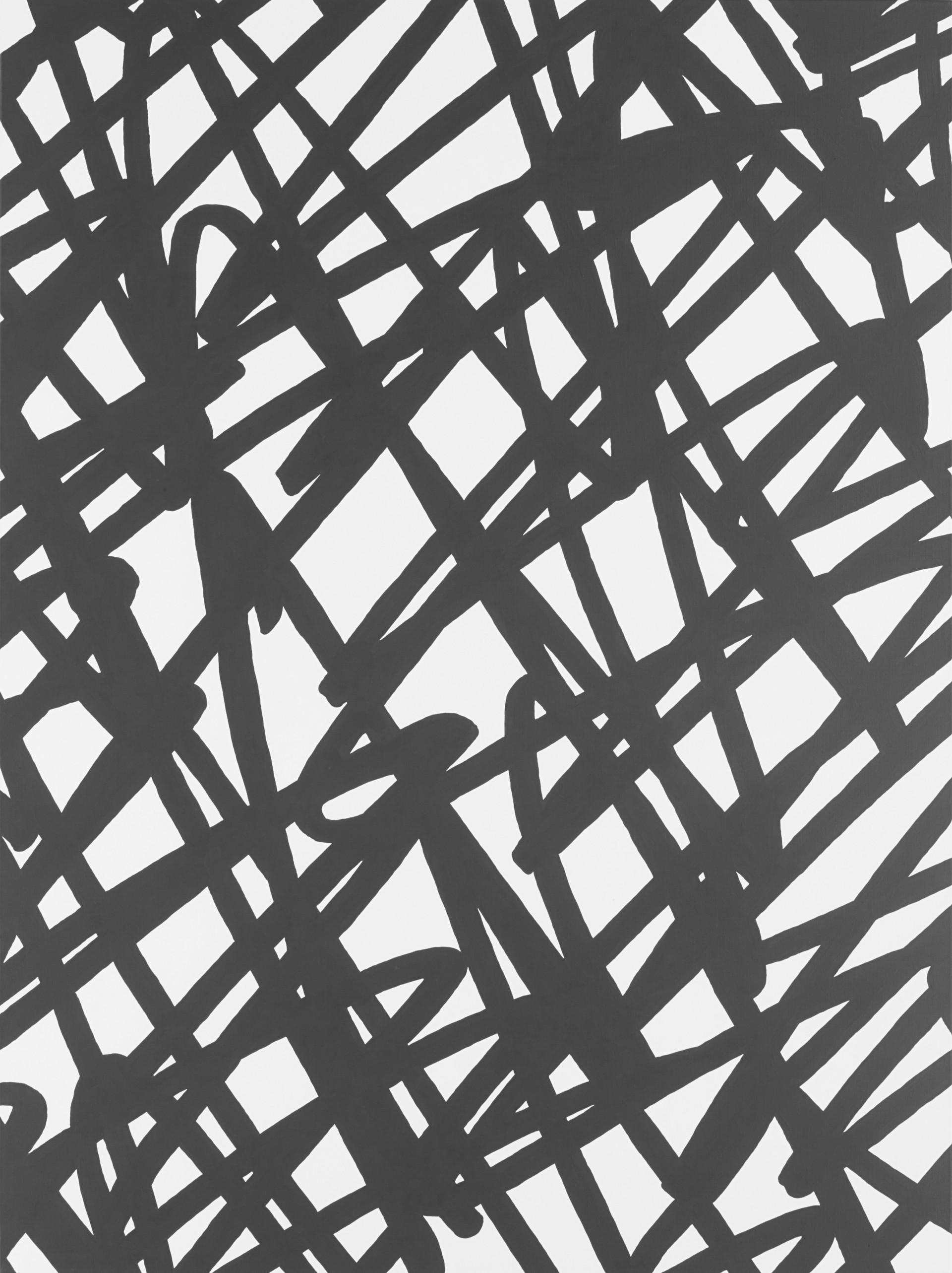 Sans titre (Site 05-01), 2017, acrylique sur toile, 130 x 97 cm