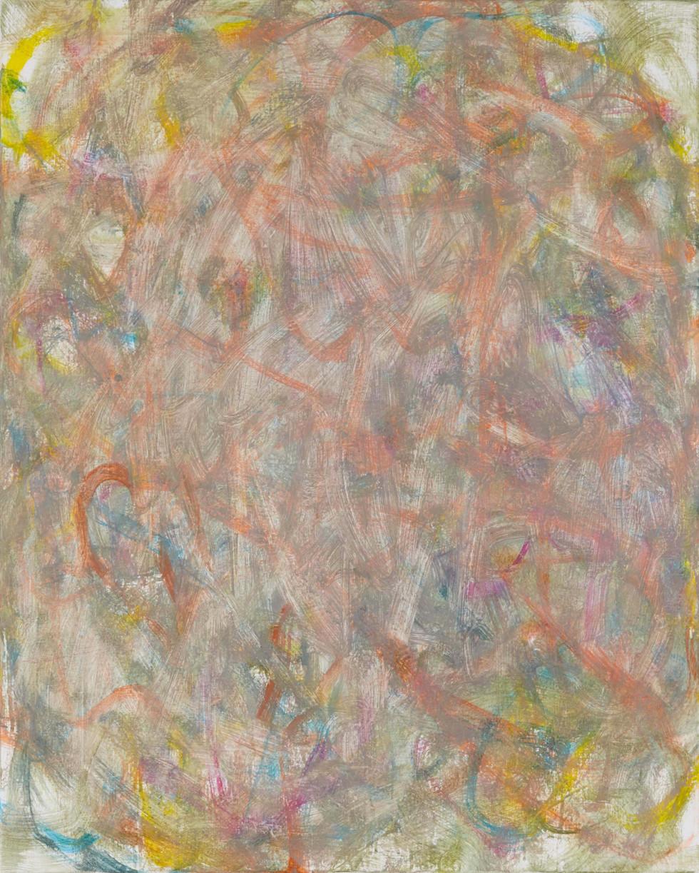 Sans titre (LA 01-01), 2019, acrylique sur toile, 81 x 65 cm
