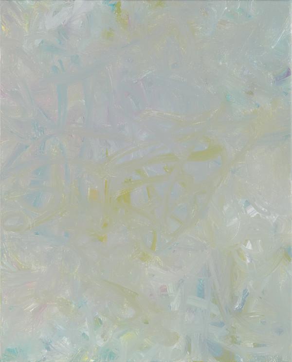 Sans titre (BG 01-07), 2017, acrylique sur toile, 41 x 33 cm