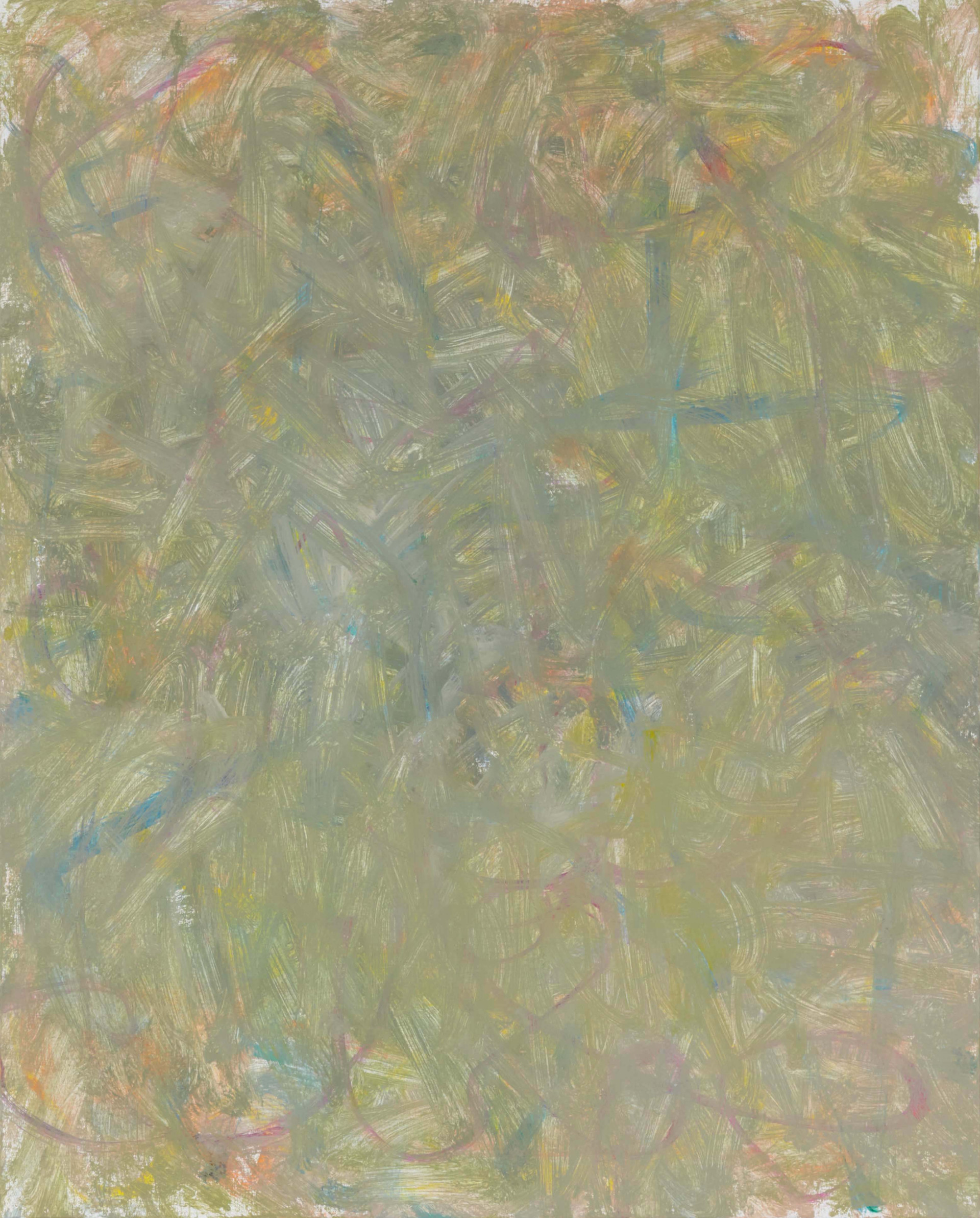 Sans titre (LA 01-02), 2019, acrylique sur toile, 81 x 65 cm
