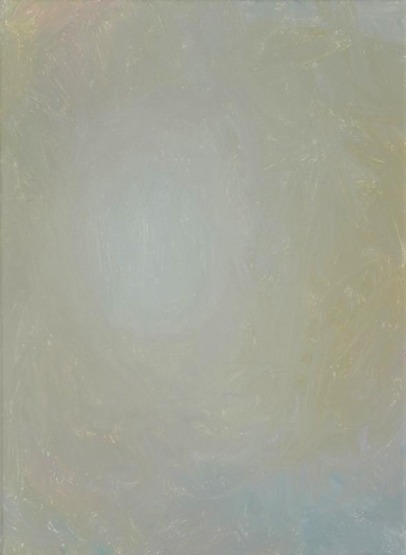 Sans titre (BG 03-05), 2018, acrylique sur toile, 33 x 22 cm
