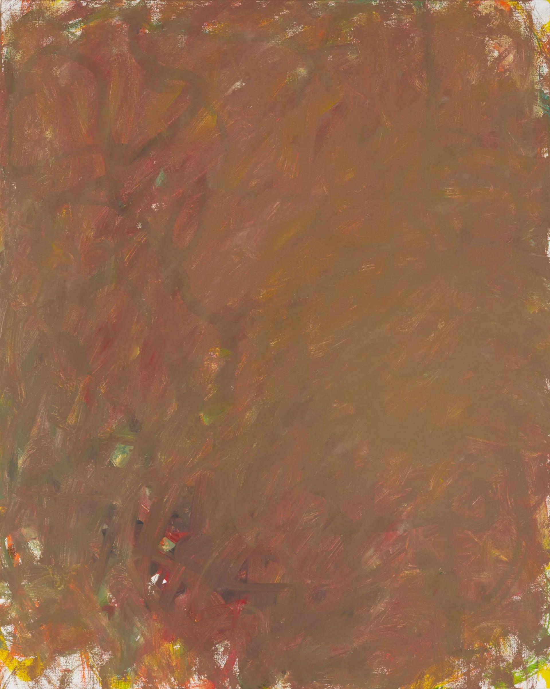 Sans titre (LA 01-12), 2019, acrylique sur toile, 81 x 65 cm