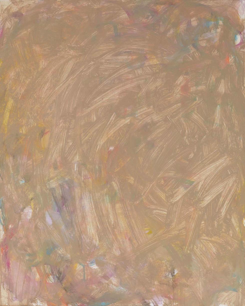 Sans titre (LA 01-03), 2019, acrylique sur toile, 81 x 65 cm
