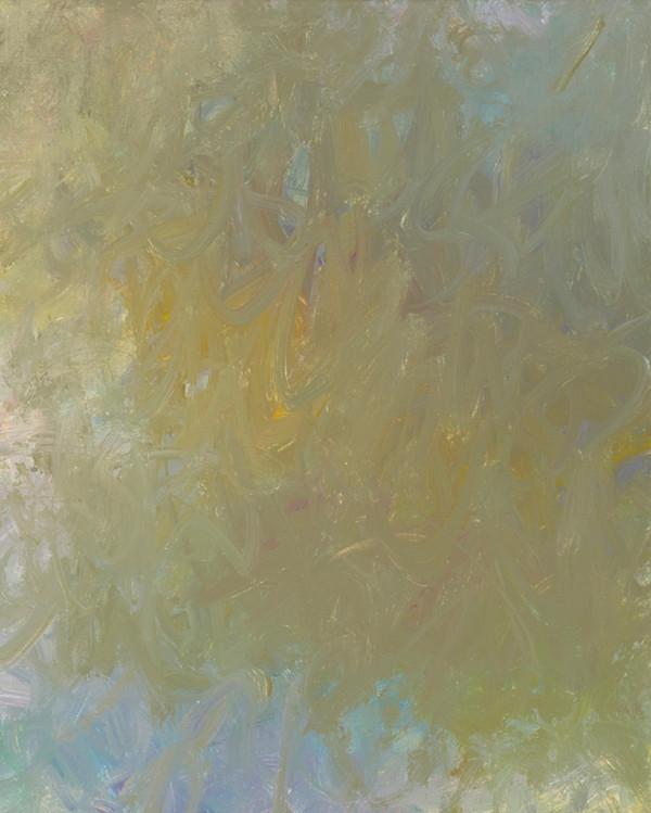 Sans titre (BG 02-08), 2018, acrylique sur toile, 41 x 33 cm