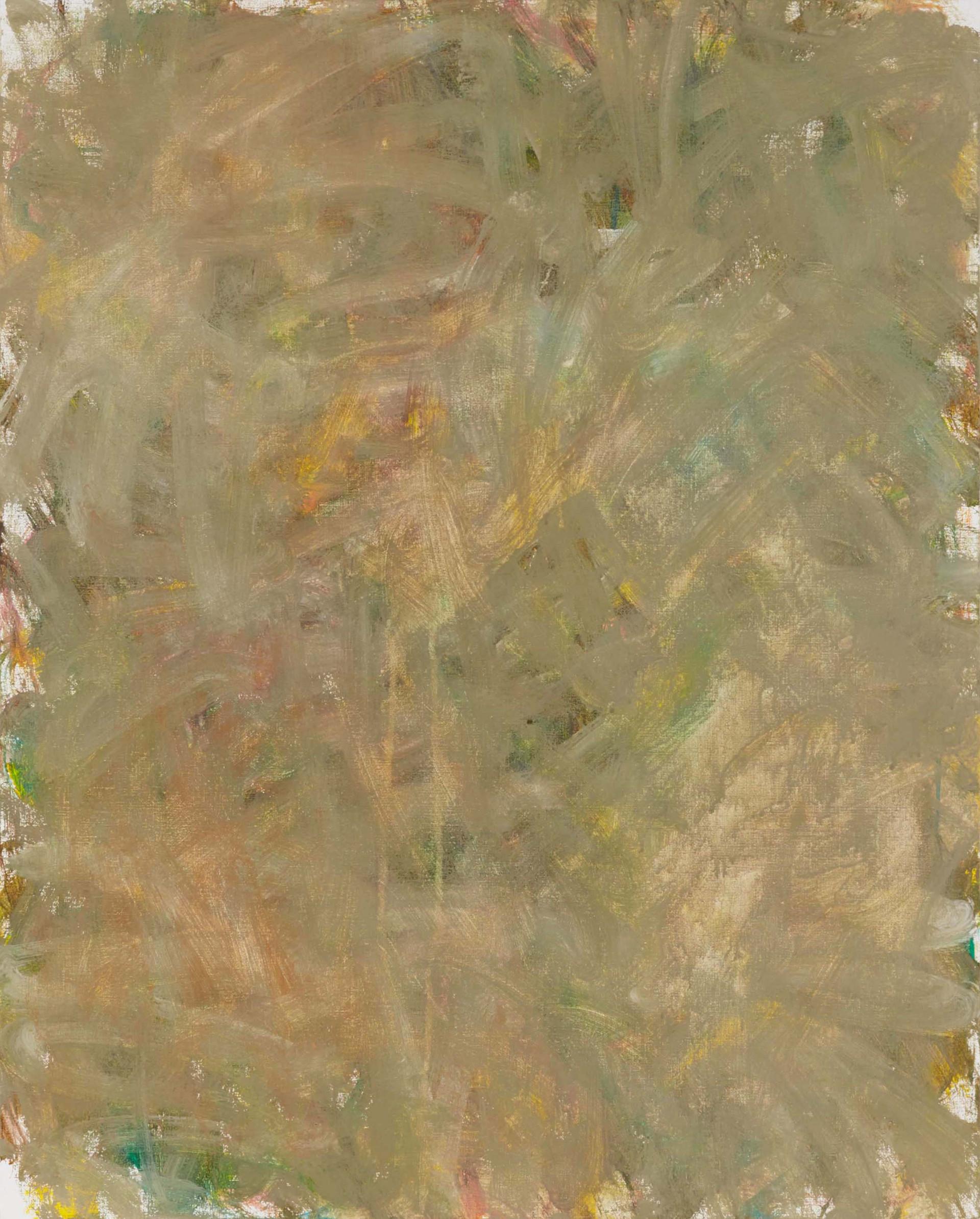 Sans titre (LA 01-14), 2019, acrylique sur toile, 81 x 65 cm