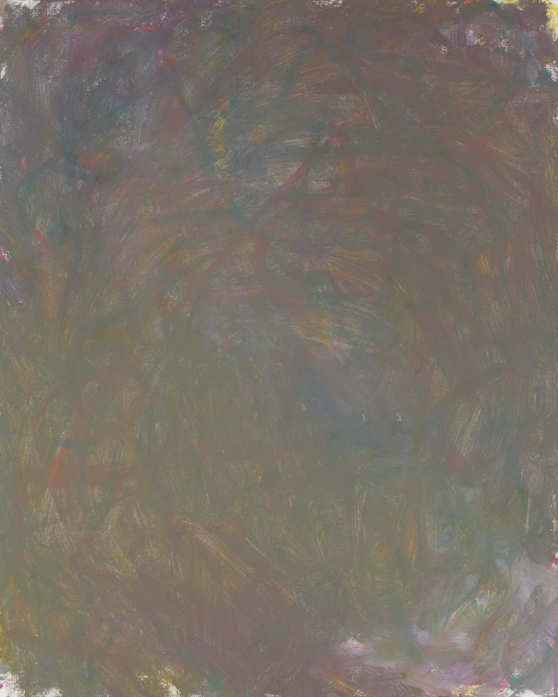Sans titre (LA 01-13), 2019, acrylique sur toile, 81 x 65 cm