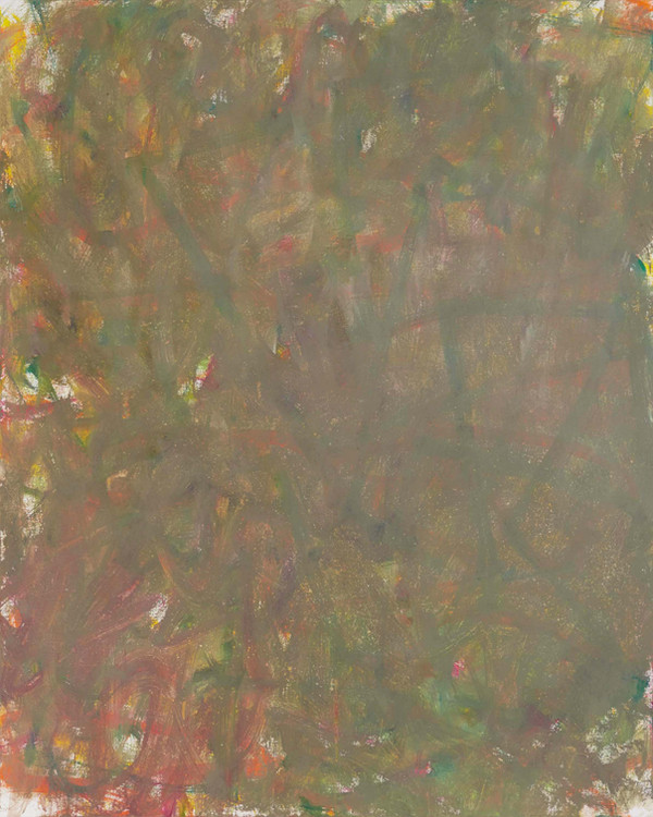 Sans titre (LA 01-11), 2019, acrylique sur toile, 81 x 65 cm
