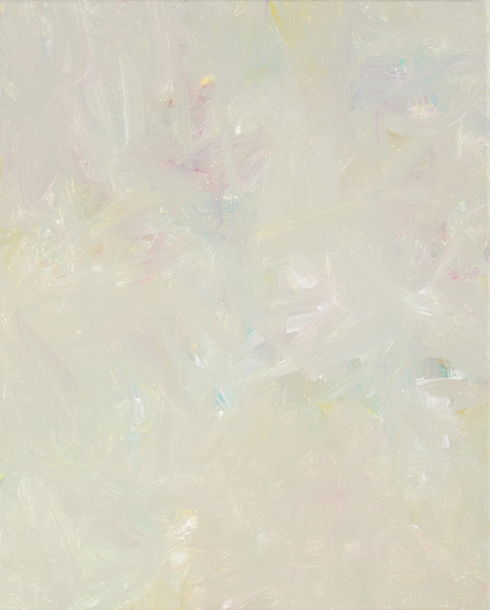 Sans titre (BG 01-02), 2017, acrylique sur toile, 41 x 33 cm