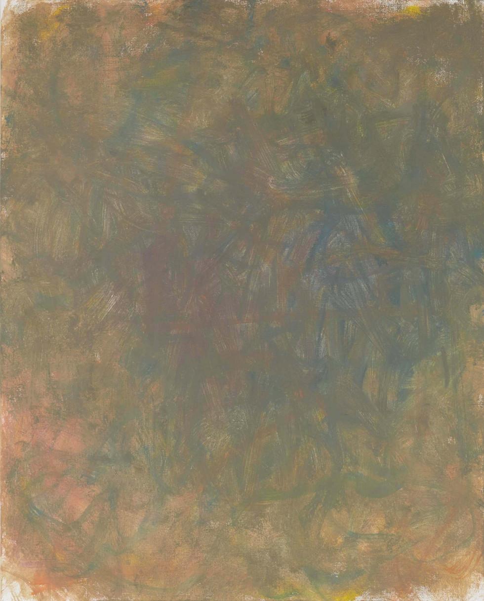 Sans titre (LA 01-06), 2019, acrylique sur toile, 81 x 65 cm