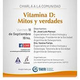 Vitamina D: Mitos y Verdades