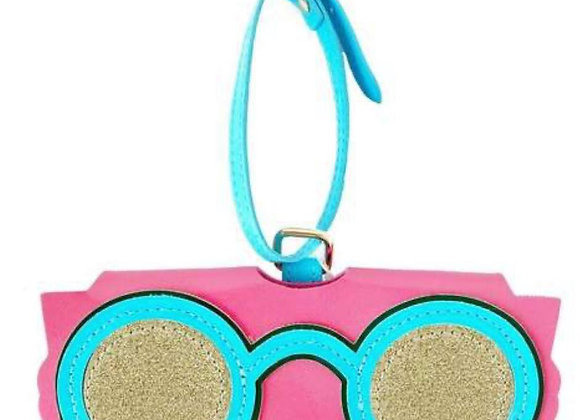 Pink Eye wear Holder Case
