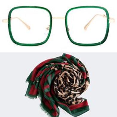 Leopard Green Gift Set