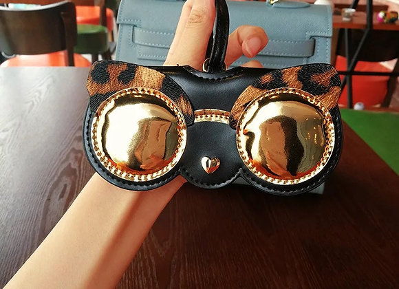 Leopard Eyewear Holder