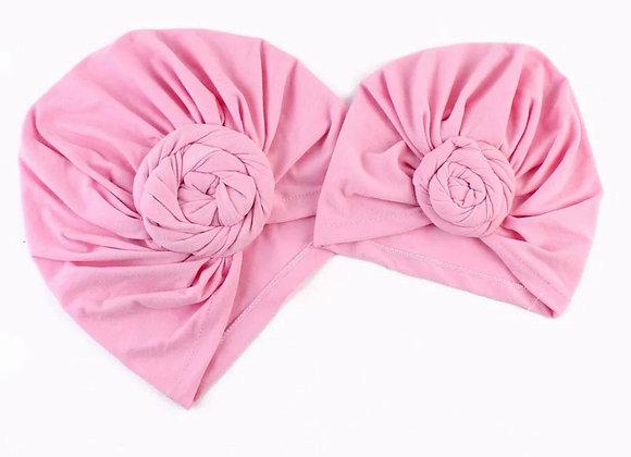 Pink Turban Set