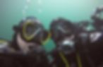 Kerrie Eade and Bethan Comley scuba diving in Scapa Flow