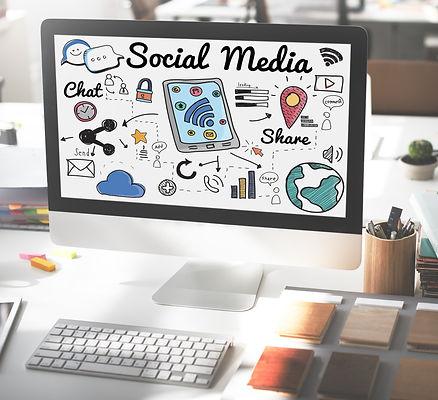 Social Media Chat Share Global Communica