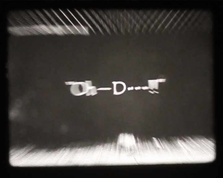 Title Card Reel 2, 16mm, 2014