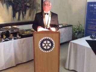 Induction of Rotary President