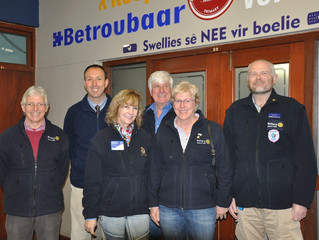 District Governor's visit
