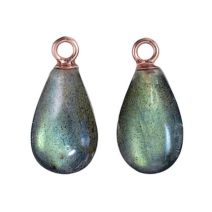 Labradorite Smooth Mini Teardrops