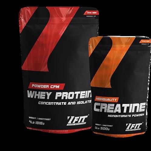 7 Fit CFM Whey Protein 1816g+Creatine 500 g ZDARMA !