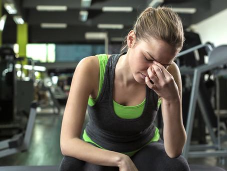 Puedo entrenar con gripe?