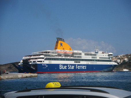 BLUE STAR DELOS Tribute and Moments of Trip