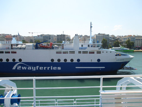 Saronic Gulf One-Day Ferry Trip on 3 July 2015