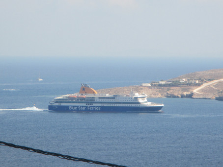 Ferries and High Speed Craft in Paros on 27-29 July 2018