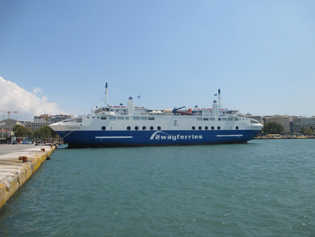 First Trip of the 2020 Season with the ACHAEOS from Piraeus to Aegina