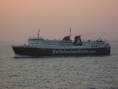 In The News: Sale of the NISSOS KEFALONIA by Kefalonian Lines to Levante Ferries