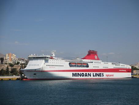 In The News: Minoan Lines Fleet Reshuffle