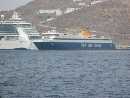 BLUE STAR PAROS Tribute and Moments of Trip