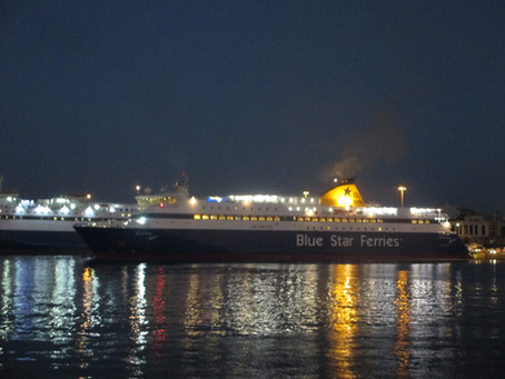 BLUE STAR NAXOS Tribute and Moments of Trip