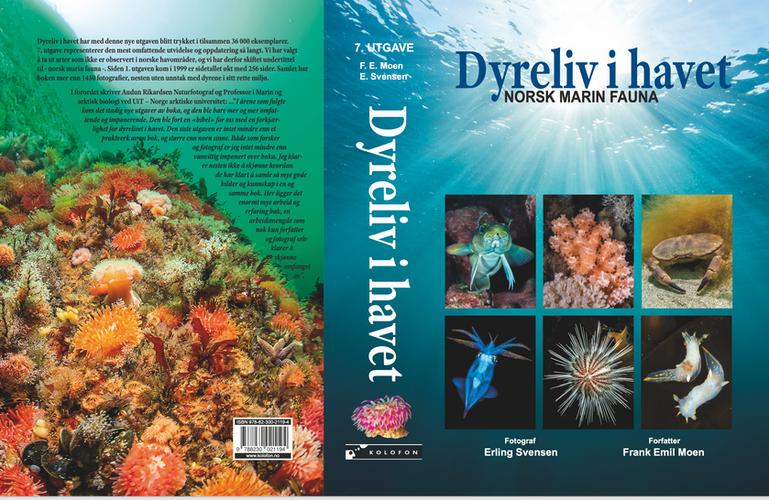 Omslag Dyreliv i havet - Norsk marin fauna