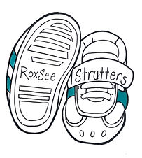 RoxSee Strutters Logo