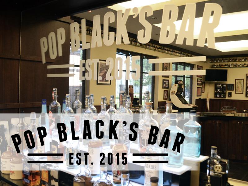 Pop Black's Bar
