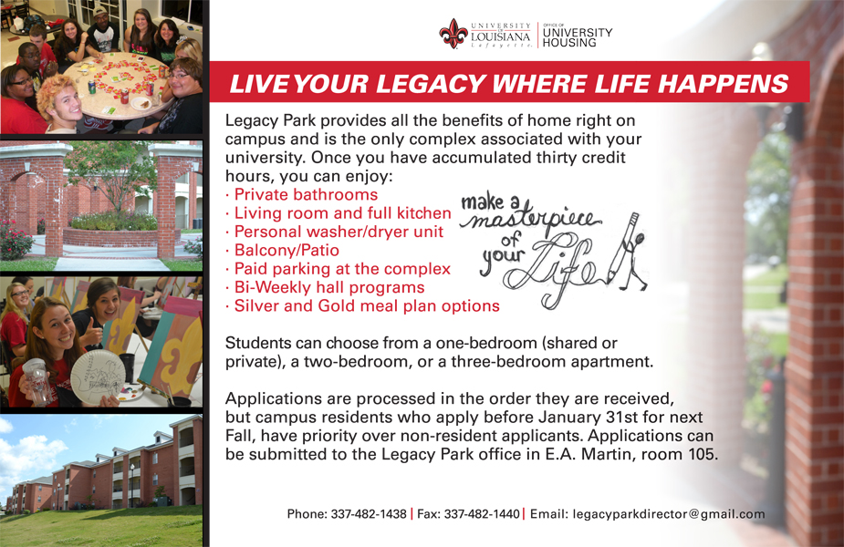 Live Your Legacy Where Life Happens