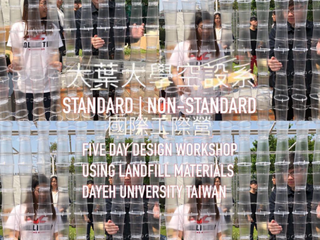 Marcus conducting Material Workshop at Dayeh University Taiwan, Standard/Non- Standard.