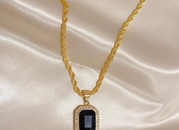 Dark Royalty Pendant Necklace