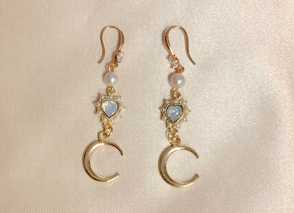 Enchanted Crescent Earrings