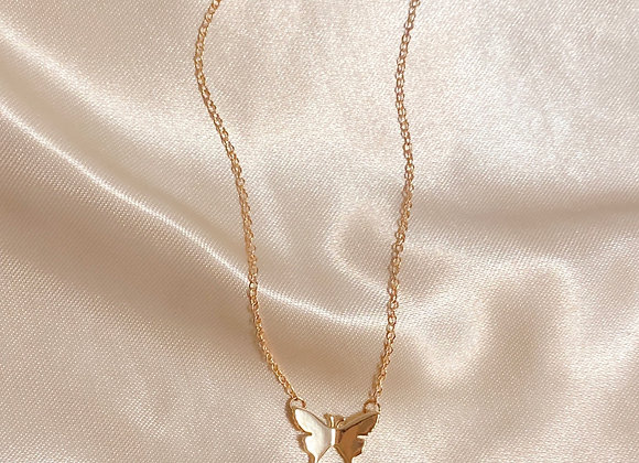 Simple Butterfly Neckace