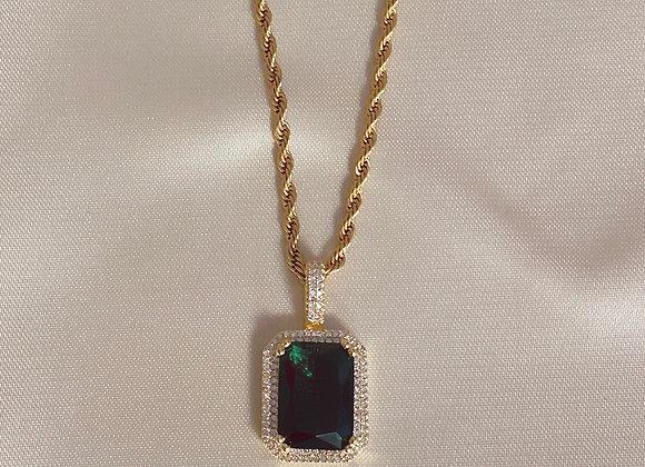 Emerald Royalty Necklace