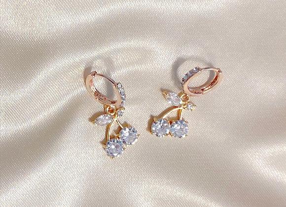 Double Diamond Cherry Huggies