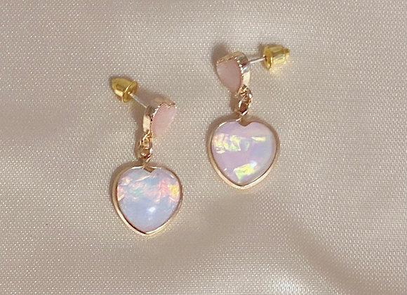 Enchanted Heart Earrings