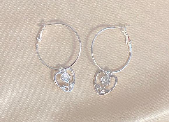 Rose Heart Hoops