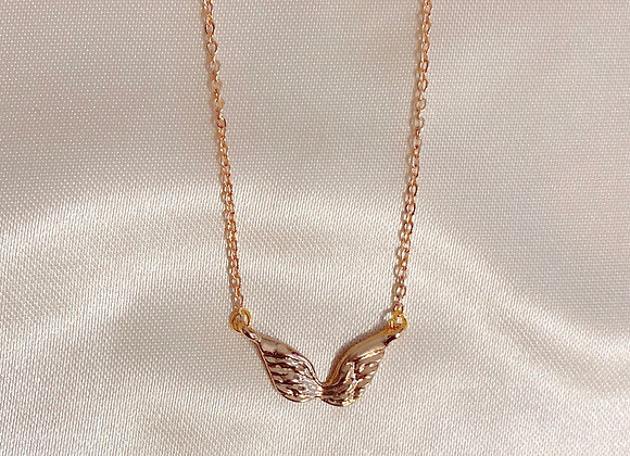 Gold Angel Wings Necklace