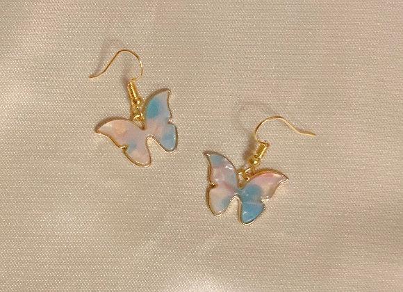 Celestial Butterfly Earrings