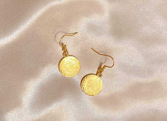 Ottoman Empire Coin Earrings