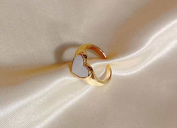 Dove Heart Ring